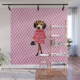 Puppy Person Wall Mural