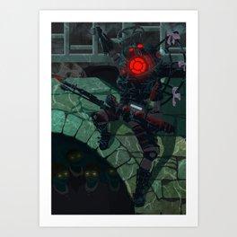 Bioshock2 Art Print