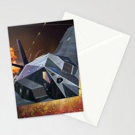 F117 NightHawk Stationery Cards
