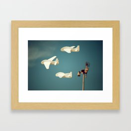 Avioncitos//Little planes Framed Art Print