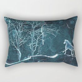 Marble Scenery Rectangular Pillow