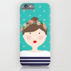 Girl in Flower Crown Slim Case iPhone 6s