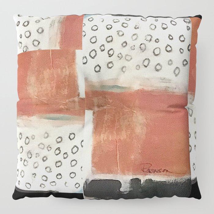 layered meditation Floor Pillow