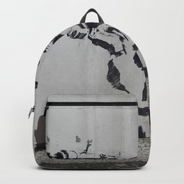 mona lisa - banksy Backpack