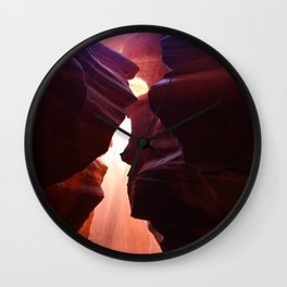 A Colorful Symphony In Stone Wall Clock