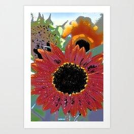 Sunflower 31 Art Print