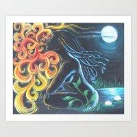 """""""Night Queen"""" Art Print"""