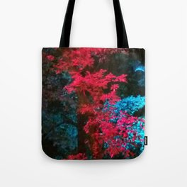 iDeal - Trippy Trees 01 Tote Bag