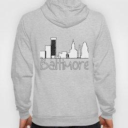 Baltimore Hometown City tee Hoody