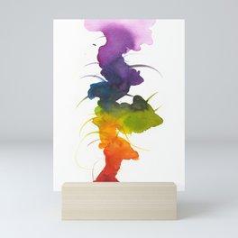 Little Chakra Tree Mini Art Print