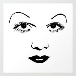 Old Hollywood - Jean Harlow Art Print