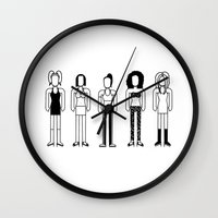 spice Wall Clocks featuring Spice Girls by Band Land