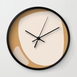 Shape Study #1 - Neighbors Wall Clock