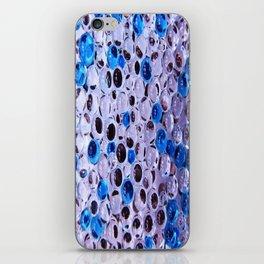 bulle bleu fondu iPhone Skin