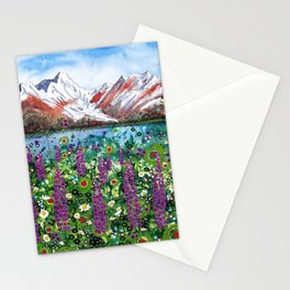Carpathian in Lupine Stationery Cards