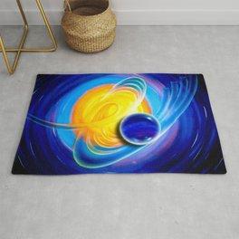 Abstract perfection - Circle Rug