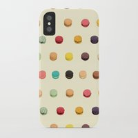 macaron iPhone & iPod Cases featuring Macaron Fest by Electric Avenue