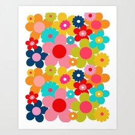 Groovy Daisy Art Print