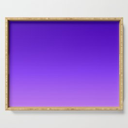 Blue Purple Ombre Serving Tray