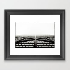 Chicago - Hancock Framed Art Print