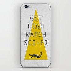 watch sci-fi iPhone & iPod Skin