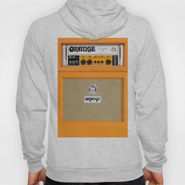Bright Orange color amplifier amp Hoody