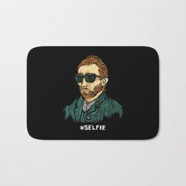 Van Gogh: Master of the #Selfie Bath Mat