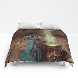 The Magic Circle John William Waterhouse Painting Comforters