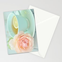 Tea Rose Stationery Cards