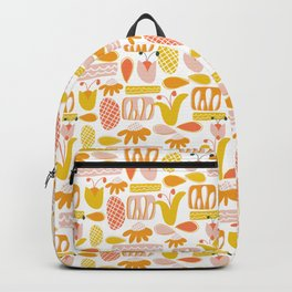 Midcentury Floral Backpack
