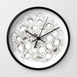 Seedpod Wall Clock