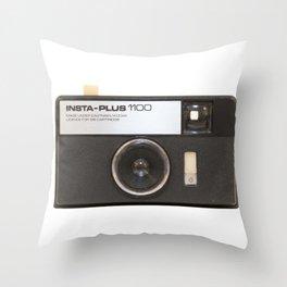 Instamatic Camera Throw Pillow