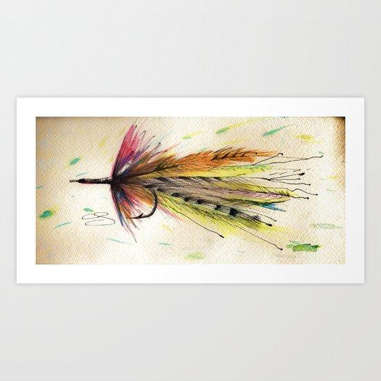 To Teach A Man To Fish Art Print