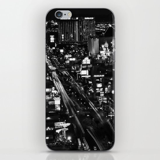 Dark Depths of Las Vegas iPhone & iPod Skin