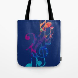 I love musical notes #6 Tote Bag