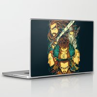 hobbit Laptop & iPad Skins featuring The Hobbit by anggatantama
