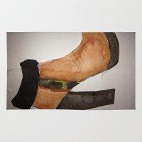 fashion illustration Area & Throw Rugs featuring FASHION by JordynC
