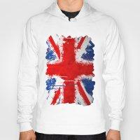 british Hoodies featuring BRITISH FLAG by Sophie