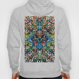 Bold Pattern Art - Color Fusion Design 8 By Sharon Cummings Hoody