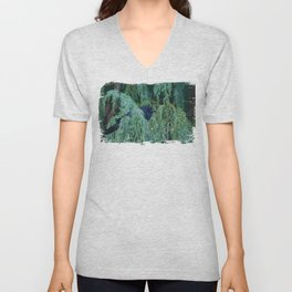 Watching Me Watching You Unisex V-Neck