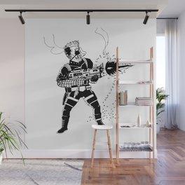 Shoot 'Em Up Wall Mural