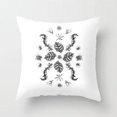 Botanica Composition  Throw Pillow