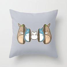 Totodoll Throw Pillow
