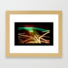 Marty McFly Lands at India Gate #2 Framed Art Print