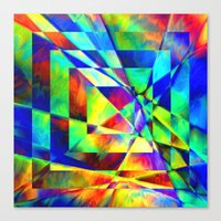 illusion Canvas Prints featuring Illusion. by Assiyam
