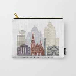 Vancouver skyline poster Carry-All Pouch