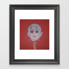 R & L Framed Art Print