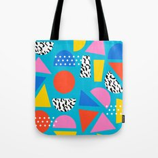 Airhead - memphis retro throwback minimal geometric colorful pattern 80s style 1980's Tote Bag
