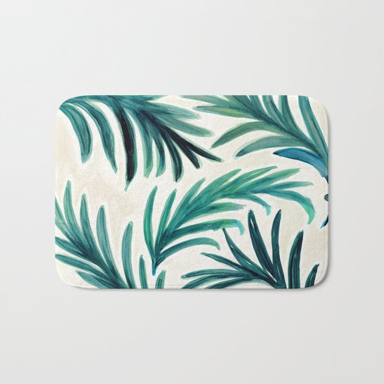 Palm Bath Mat