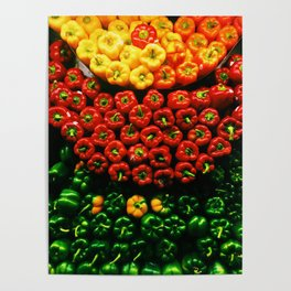 Bell Pepper Display Poster